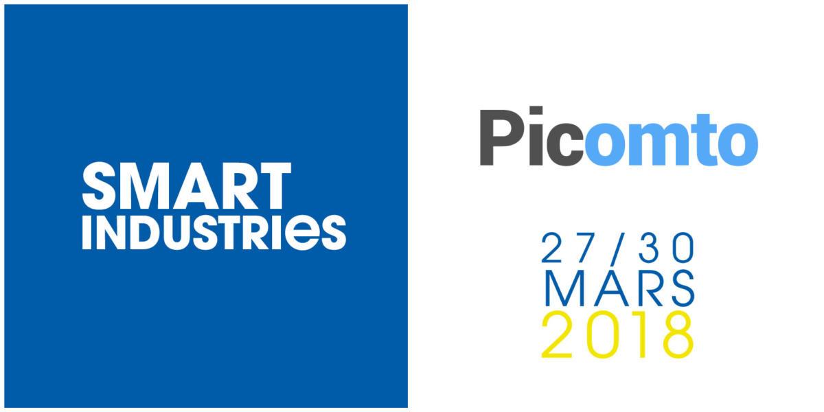 Picomto au salon Smart Industries 2018, Stand 3K33
