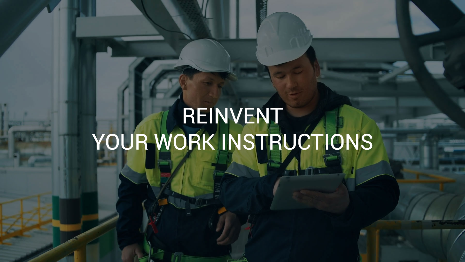 Reivent your work instructions