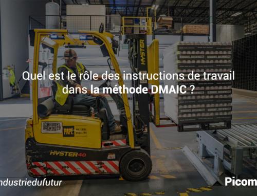 Quel est le rôle des instructions de travail dans la méthode DMAIC ?
