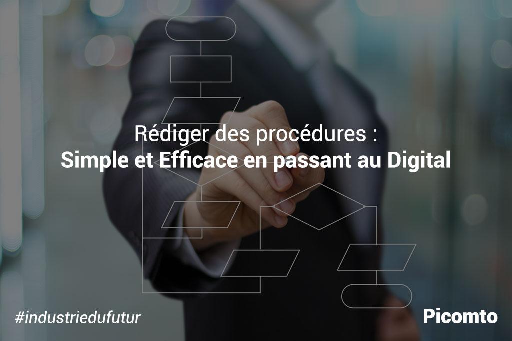 Rédiger des procédures : simple et efficace en passant au digital