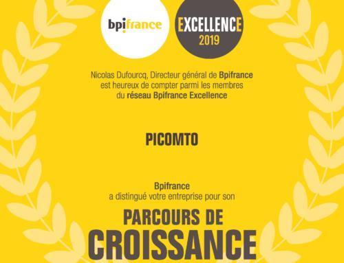 Picomto, membre du réseau Bpifrance Excellence