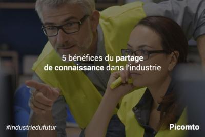 5 bénéfices du partage de connaissance dans l'industrie