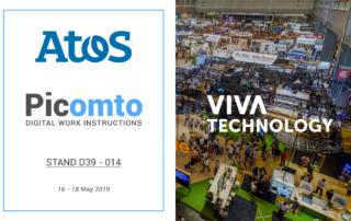 Picomto sera présent à Viva Technology sur le Lab d'Atos