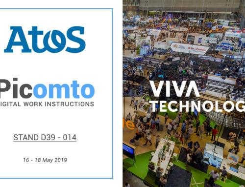 Picomto sera présent à Viva Technology 2019 sur le Lab d'Atos
