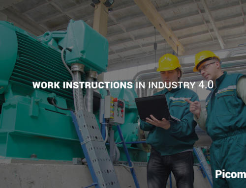 Work instructions Industry 4.0