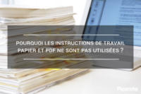 Instructions de travail papier