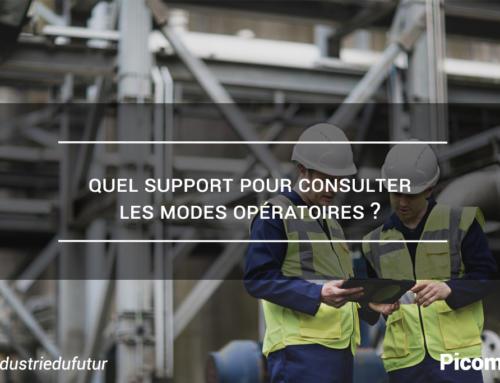 Quel support pour consulter les modes opératoires ?