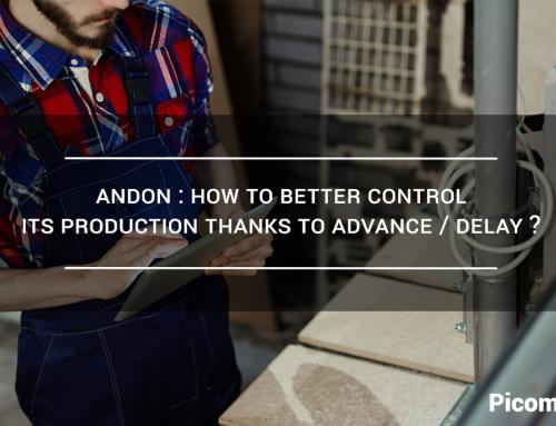 Andon: How to better control its production thanks to advance/delay?