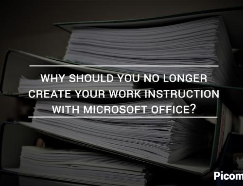 Why should you no longer create your work instruction with Microsoft Office?