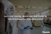 Why use digital work instructions in the pharmaceutical industry?