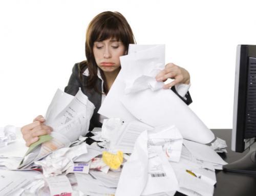 Warum sollte Papier aus den Werkstätten entfernt werden?