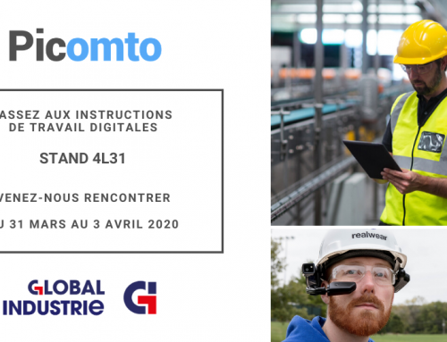 Picomto à Global Industrie 2020 – Stand 4L31