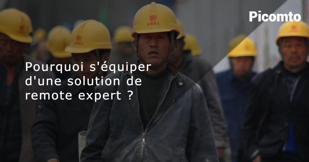 Pourquoi s'équiper d'une solution d'Expertise à distance ?