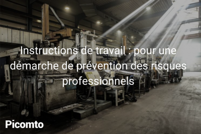 Instructions de travail