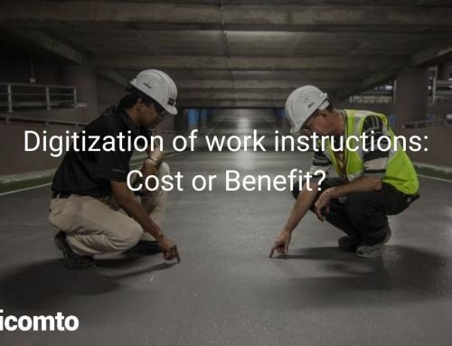 Digitization of work instructions: Cost or Benefit?