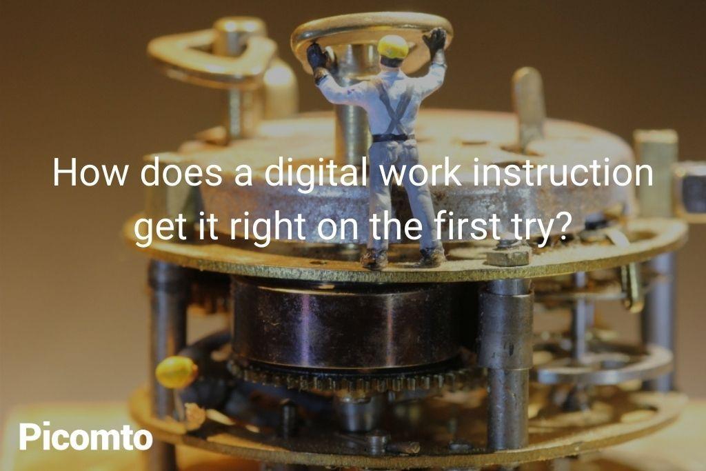 digital instructions in industry