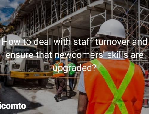 How to deal with staff turnover and ensure that newcomers' skills are upgraded?