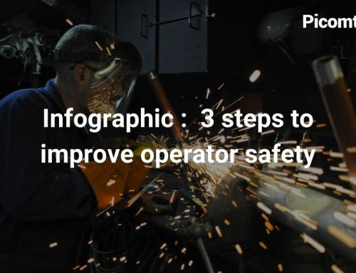 Infographic :  3 steps to improve operator safety